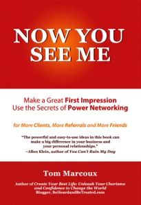 "Learn to Follow-up well and network your way to real success; Book: ""Now You See Me"" available at Amazon.com"