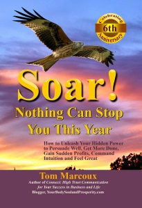 """Make 2017 Great! Use Tom Marcoux 's book """"Soar! Nothing Can Stop You This Year"""""""